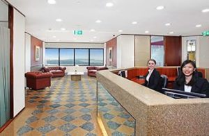 Sydney offices reception desk